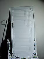 Испаритель плачущий капилярка1 трубка, Размер 100х45. Для бытовых холодильников, морозильных камер.