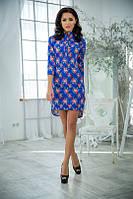 Женское платье джинс 3 расцветки , фото 1