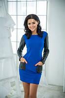 Женское платье кожа разные цвета , фото 1