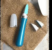 Электрическая роликовая пилка для ногтей с насадками, фото 1