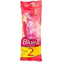 Gillette Blue II  5+2 шт. (For women)