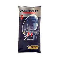 Одноразовый мужской станок для бритья BIC Astor 2 Blades (5 шт)