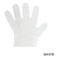 Плотные одноразовые полиэтиленовые перчатки Lady Victory (100 шт. в упаковке) LDV GH-01В /18-0