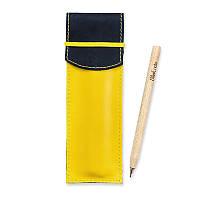 Чехол для ручек BlankNote 1.0 Ночное небо-лимон (+эко-ручка и карандаш)