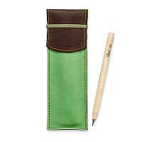 Чехол для ручек BlankNote 1.0 Орех-фисташка (+эко-ручка и карандаш)