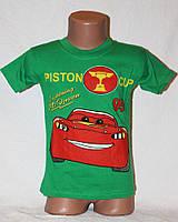 Детская футболка на мальчика (Макквин) СЕРЫЙ ЦВЕТ 3-7 лет