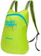 Городской удобный, складной рюкзачок 12 л. KingCamp EMMA KB3309 (94139) Tender green, зеленый
