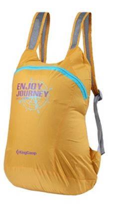 Желтый складной городской рюкзак 12 л. KingCamp EMMA KB3309 (94136)