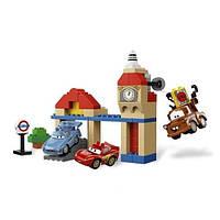 Конструктор для мальчиков Машинки-Тачки 5119, содержит 76 блоков-деталей