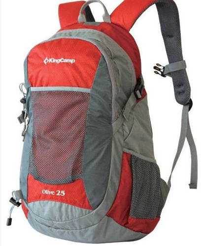 Городской мужской рюкзак 25 л. KingCamp OLIVE KB3307 (94158) красный