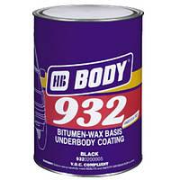 Мастика BODY 932 Чёрная, 4 кг.