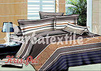 Комплект постельного белья евро 200*220 хлопок  (4682) TM KRISPOL Украина