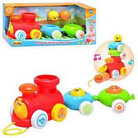 Музыкальная игрушка-каталка Паровоз  Win Fun 0750 NL