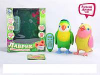 Музыкальная интерактивная игрушка-повторюшка Попугай Лавр Tongde T57-D712