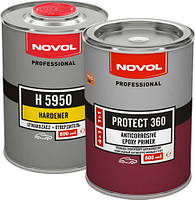 Антикоррозионный эпоксидный грунт NOVOL PROTECT 360 1+1 1,6л комплект