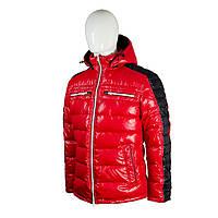 Пуховик мужской Snowimage средней длины красный