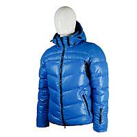 Пуховик мужской Snowimage средней длины голубой