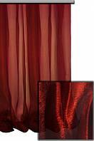 Тюль готовая, органза Бордо 6 метров
