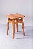 Табурет обеденный на прямых ножках орех темный (Микс-Мебель ТМ)