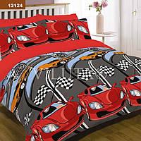 Подростковый комплект постельного белья Viluta ткань Ранфорс платинум Тачки