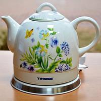 Чайник керамический Tiross TS-493
