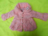 Детское  Пальто на девочку на 1 и 3 года (Вена/осень)