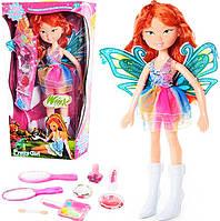 Волшебная кукла Блум Винкс с набором косметики и бижутерии, звуковое оформление