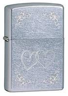 Зажигалка ZIPPO 24016 HEART TO HEART, оригинальный подарок.