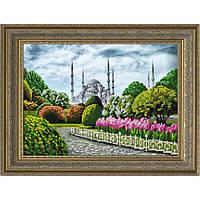 """Схема для вышивки бисером """"Голубая мечеть. Стамбул."""""""