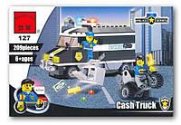 Конструктор детский Brick Инкассатор 127