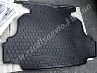 Коврик в багажник на GEELY Emgrand седан (AVTO-GUMM) пластик+резина