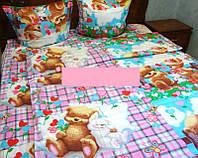 Постельное белье для детей ''Мишки'', бязь-люкс