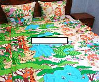 Детское постельное белье  ''Зоопарк'',бязь-люкс