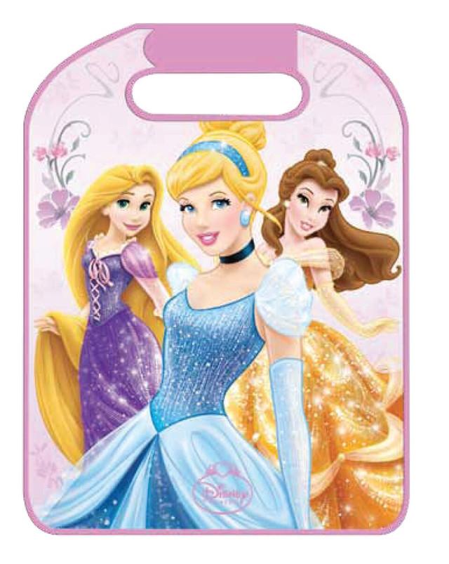 защитный чехол princess на спинку передн. Сиден/ с сетчатым карманом 45x58см  (розовый) тм eurasia-disney 25324