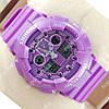 Стильные наручные спортивные часы Casio Shors GA-100 Purple 705