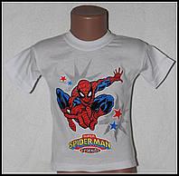 Детская футболка на мальчика (человек паук) 1-3 года