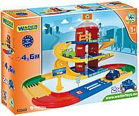 Wader Kid Cars 3D детский паркинг 3 этажа с дорогой 4,6 м 35040