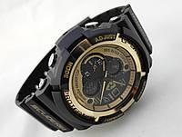 Часы мужские G-Shock - Scuderia Ferrari, черные с золотом