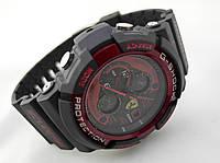 Часы мужские G-Shock - Scuderia Ferrari, черные с красным