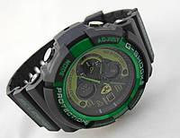 Часы мужские G-Shock - Scuderia Ferrari, черные с зеленым