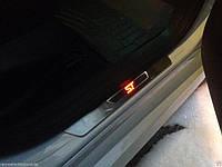 Ford Focus 2012-16 накладки на передние дверные пороги ST с подсветкой LED новые оригинальные
