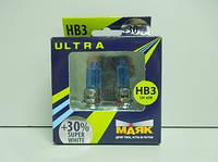 Маяк super white+30% hb3 12v 65w 4000k