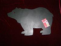 Меловая доска Медведь (36 х 58), декор