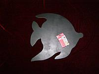 Меловая доска Рыбка (38 х 41), декор