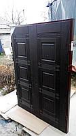 Дверь двойная входная на раме (пример модель 201)