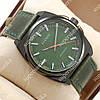 Стильные наручные часы Curren Classico 8168 Black\Green 1008-0022