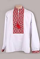 Нарядная мужская рубашка с украинской вышивкой