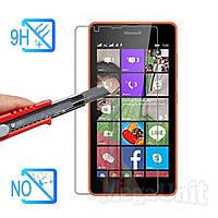Защитное стекло для экрана Microsoft (Nokia) Lumia 540 твердость 9H, 2.5D (tempered glass)