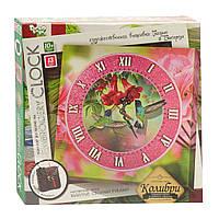 "Набор для творчества"" Часы с вышивкой гладью ""Embroidery clock"""