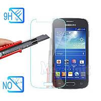 Защитное стекло для экрана Samsung Galaxy Ace 4 G313 твердость 9H, 2.5D (tempered glass)